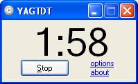 Yet Another Getting Things Done Timer (YAGTDT) - Two Minute Timer for GTD